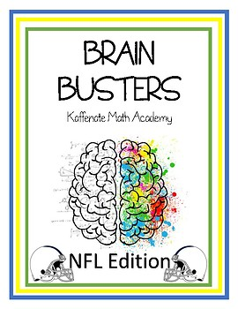 Kaffenate BRAIN BUSTERS--NFL Edition