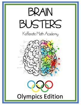 Kaffenate BRAIN BUSTERS--OLYMPICS Edition