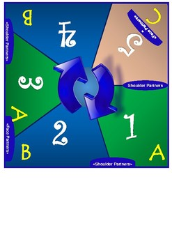 5 Student Cooperative Learning Mat
