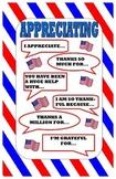 Kagan Appreciating Poster:  Civics Theme