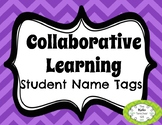 Kagan Collaborative Learning Student Name Tag
