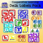 Cooperative Learning Desk Labels Pack