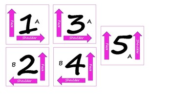 Kagan Cooperative Learning Table Cards (colored)