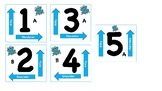 Kagan Cooperative Learning Table Cards (frogs)