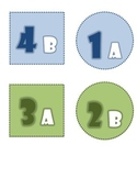 FREE Cooperative Learning Desk Labels for Horseshoe T shape Formation