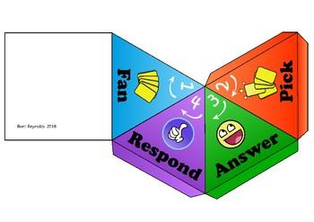 Kagan Fan and Pick Pyramid Organiser