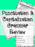 Find Someone Who: Capitalization & Punctuation Grammar Review