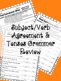 Find Someone Who: Past, Present, and Future Tenses Grammar Review