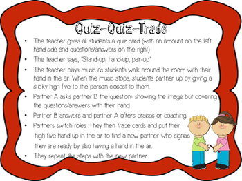 Kagan Quiz Quiz Trade - Round to the nearest 5c