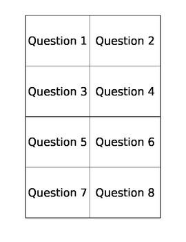 Quiz Quiz Trade Template