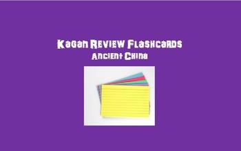 Kagan Review Flashcards – Ancient China