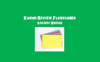 Kagan Review Flashcards – Ancient Greece