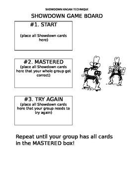 Kagan Showdown Structure Board Game