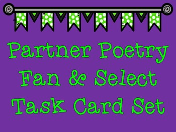 Kagan Strategy Fan-N-Pick Cards for Any Poem