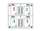 Kagan Table Labels