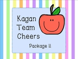 Kagan Team Cheer Posters - Package 2!!