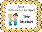 Quiz Quiz Trade Cards- Time Language