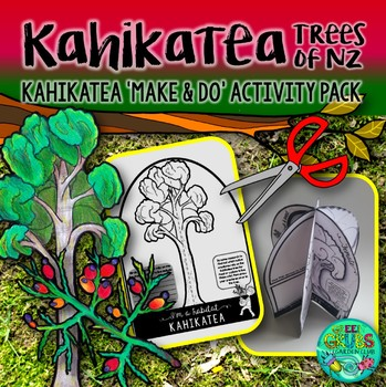 Kahikatea (New Zealand Trees Make & Do Activity Pack}