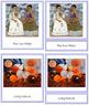 Kahlo (Frida) 3-Part Art Cards - Color Borders
