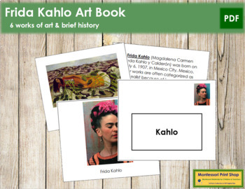 Kahlo (Frida) Art Book