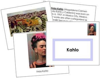 Kahlo (Frida) Art Book - Color Border