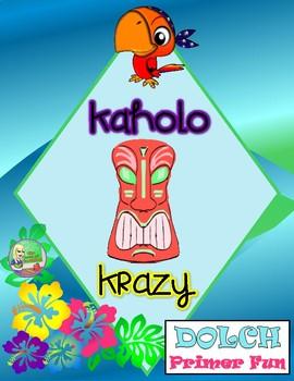 Kaholo Krazy Sight Word Game (Primer)
