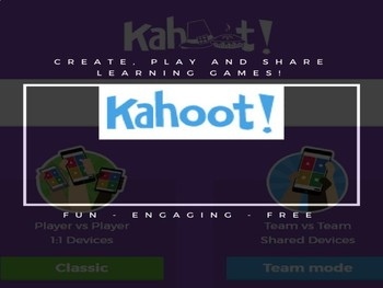 Kahoot - A step by step guide to creating and playing your first learning game