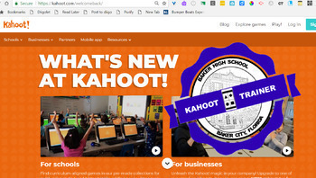 Kahoot Digital Open Badges
