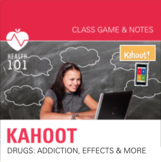 Kahoot: Drug Trivia Game- Health / Addiction / Effects / D