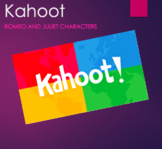 Kahoot - Romeo and Juliet Characters