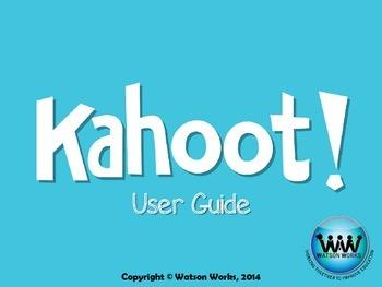 Kahoot Teacher User Guide