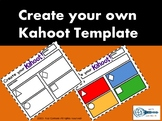 Kahoot Templates English