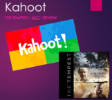 Kahoot - The Tempest Act 1 Review