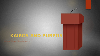 Kairos and Purpose