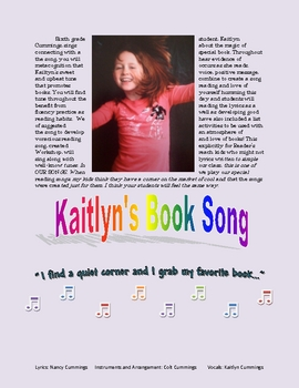Kaitlyn's Book Song: Contagious Voracious Reading!