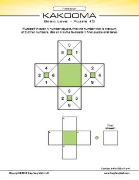 Kakooma Addition Laminates Basic 4x4