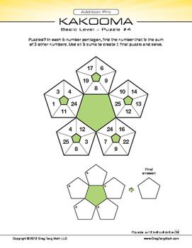 Kakooma Addition Pro Laminates Basic 5x5 Lite