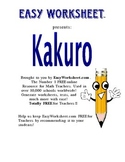 Kakuro (Cross Product) Helps students with factoring numbers!
