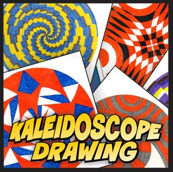 Kaleidoscope Geometric Design Project