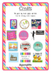 Kalender - Tage der Woche - Polka dots multi
