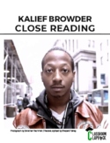 Kalief Browder, Solitary Confinement Close Reading