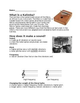 Kalimba Handout