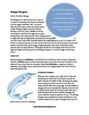 Kaluga Sturgeon Informational Text Activity