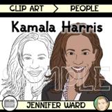 Kamala Harris Clip Art