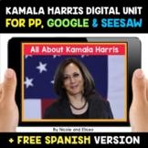 Kamala Harris Digital Activities for Google and Seesaw - D