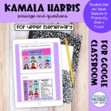Kamala Harris | Digital Reveal | Google™ Forms Passage and