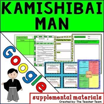 Kamishibai Man Journeys 3rd Grade Unit 2 Lesson 9 Google Digital Resource