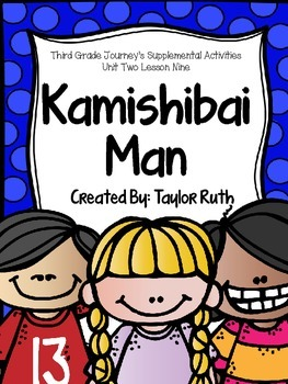 Kamishibai Man Journey's Supplemental Activities -- Third Grade Lesson 9