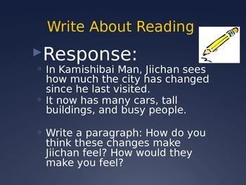 Kamishibai Man PPT Journeys Lesson 9