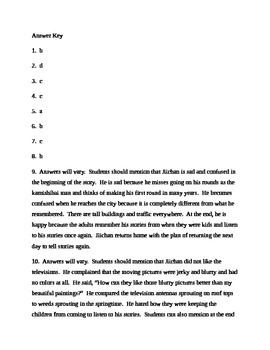 Kamishibai Man Rigor Test for Journeys - Grade 3